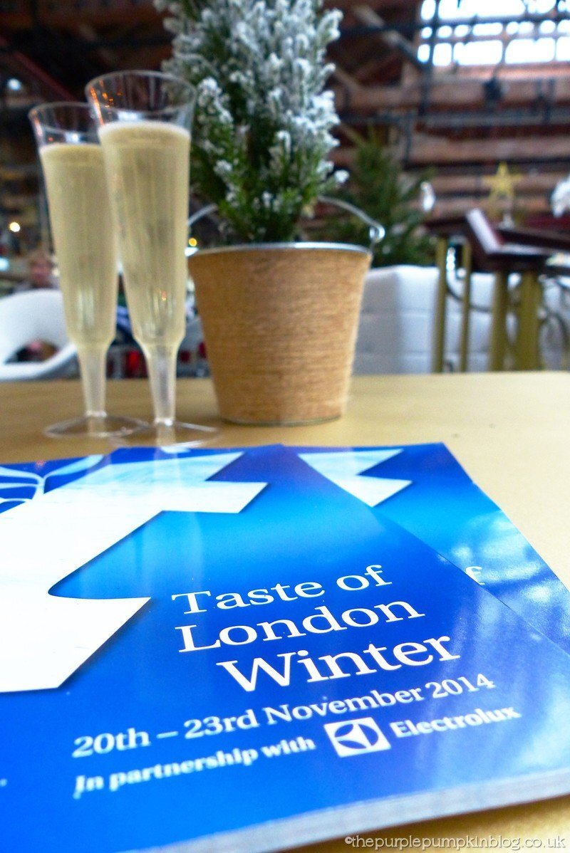 Taste of London – Winter 2014