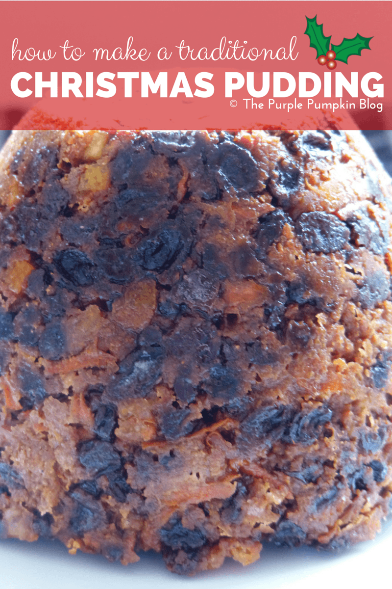 How To Make A Traditional Christmas Pudding {Create Christmas: Day 7}