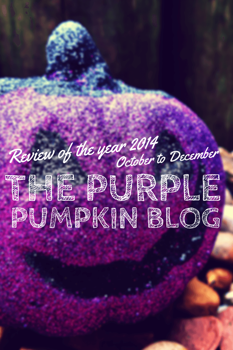 Review of the Year 2014 – October to December