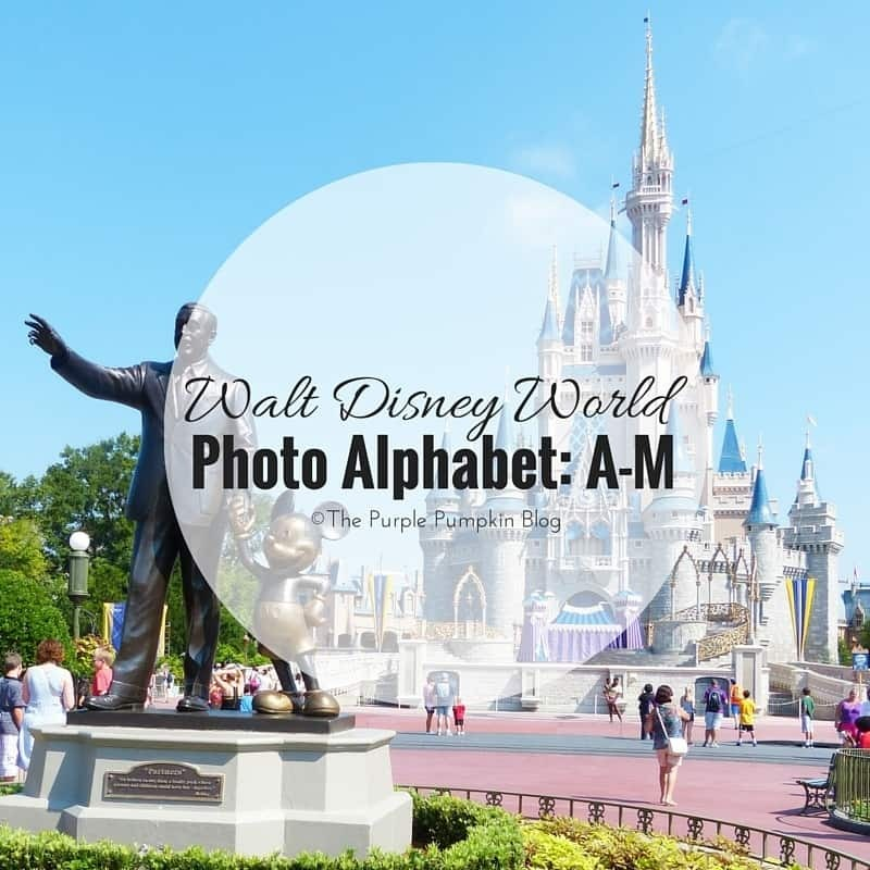 Walt Disney World Photo Alphabet: A-M 36/#100DaysOfDisney