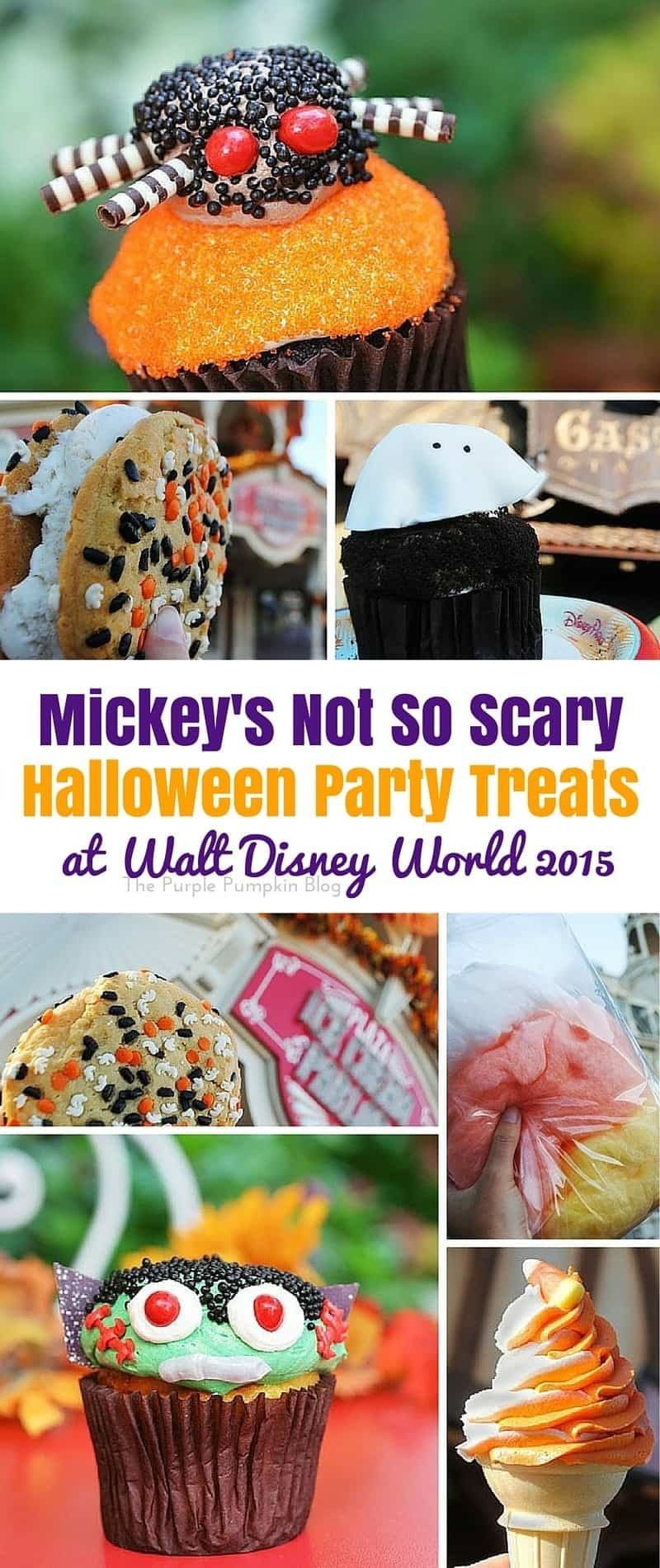 Mickey's Not So Scary Halloween Party Treats at Walt Disney World 2015 63/#100DaysOfDisney