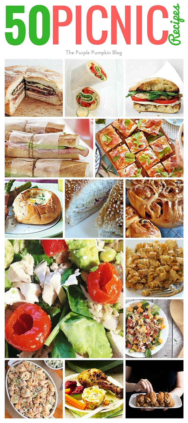 50 Picnic Recipes
