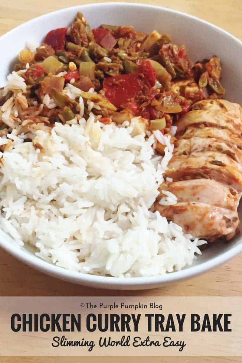 Chicken Curry Tray Bake – Slimming World Recipe