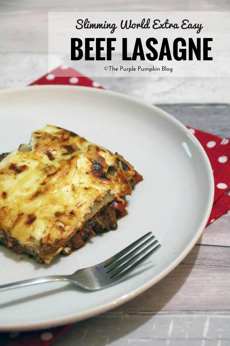 Slimming World / Lasagne