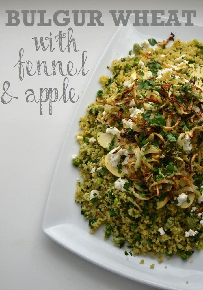 Recipe: Minted Bulgur Wheat with Fennel & Apple