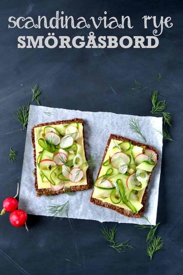 Cheese Sandwich Week – Day 2: The Scandinavian Rye Smörgåsbord