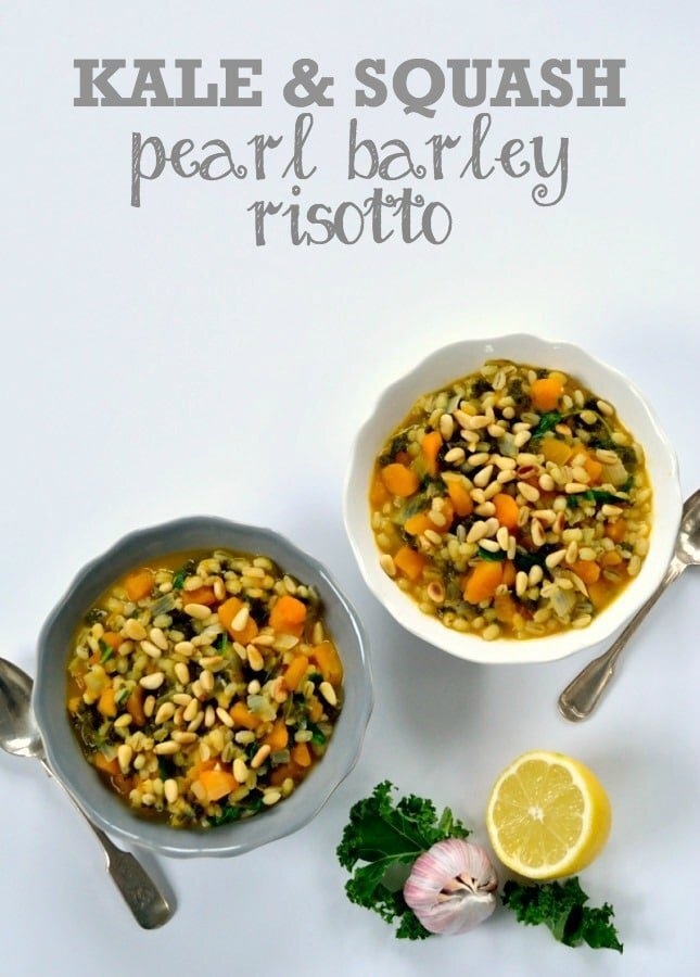 Recipe: Kale & Squash Pearl Barley Risotto (an Optimum ThermoCook recipe)