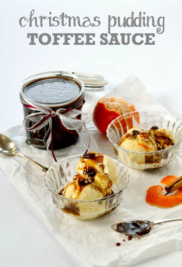 Recipe: Christmas Pudding Toffee Sauce