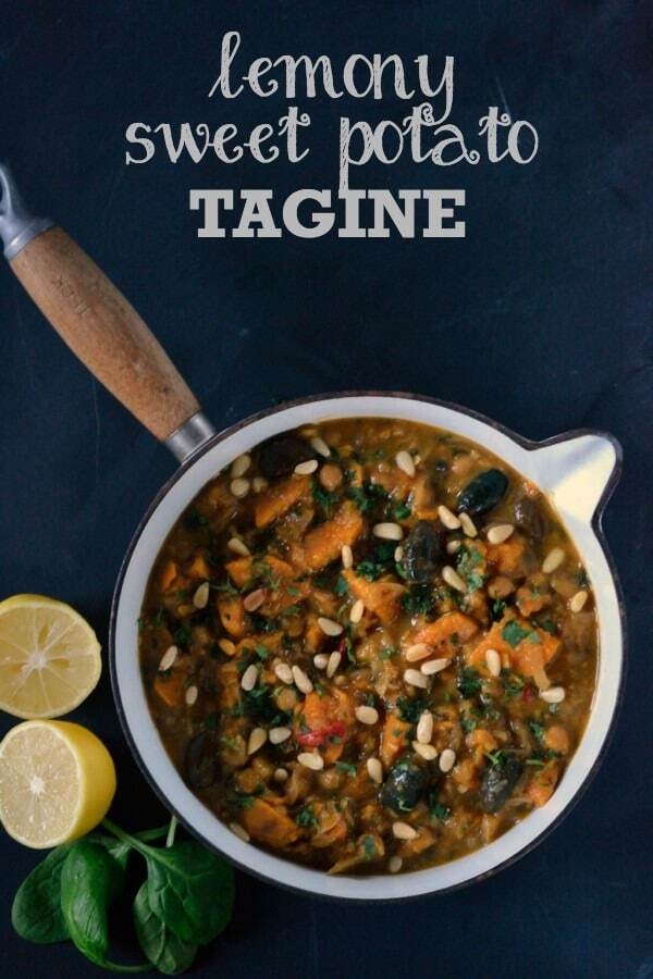 Recipe: Lemony Sweet Potato & Olive Tagine (& my Cranks Supperclub!)