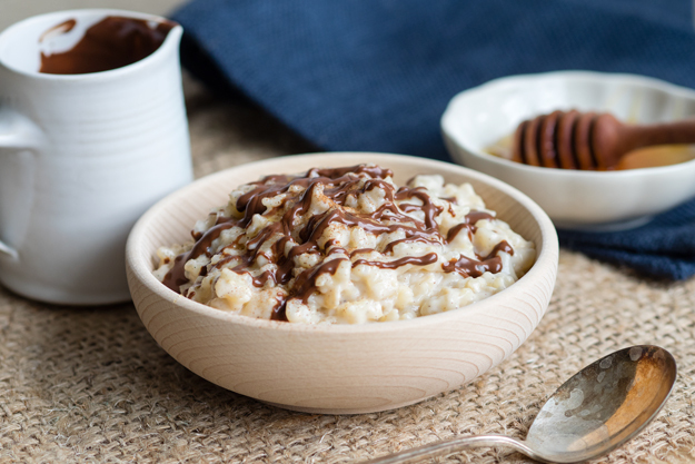 Eggnog Rice Pudding