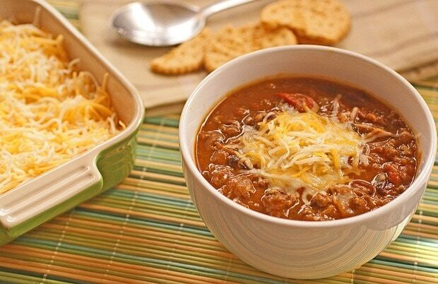 venison chili weight watchers points
