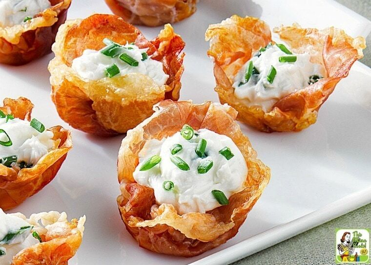 Amazing Prosciutto Cups Appetizer with Goat Cheese Mousse