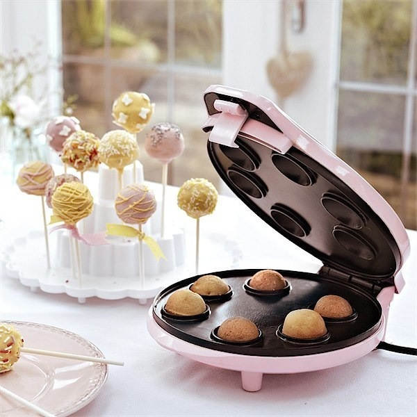 Cake pop machine. Possibly the most fun to have in the kitchen!