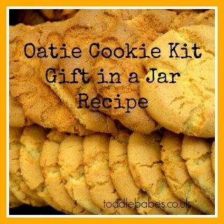 Oatie Cookie Kit Gift in a Jar recipe