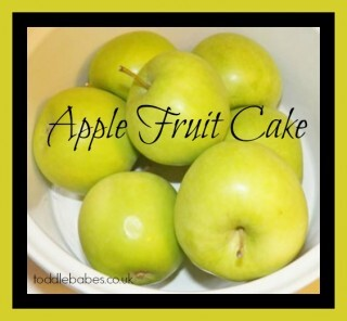 Apple fruit cake