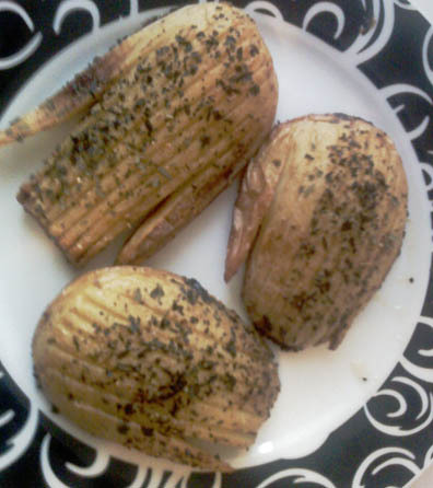 Hasselback potet