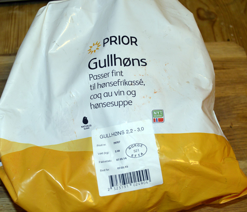 Test: Prior Gullhøns