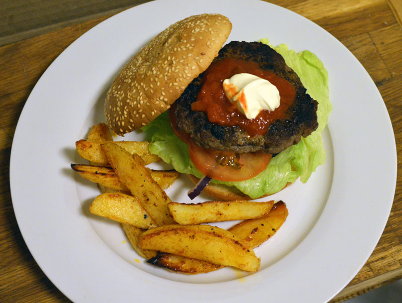 Tex-Mex Hamburger