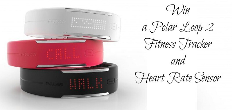 Win a Polar Loop 2 Fitness Tracker and Heart Rate Sensor Ends 28th March 2016