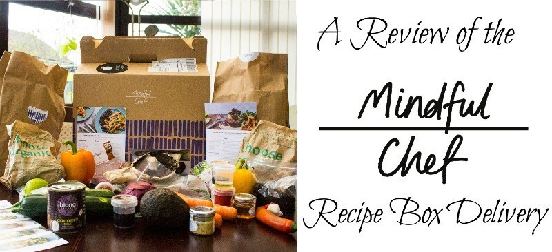 A Review of The Mindful Chef Recipe Box Delivery Service