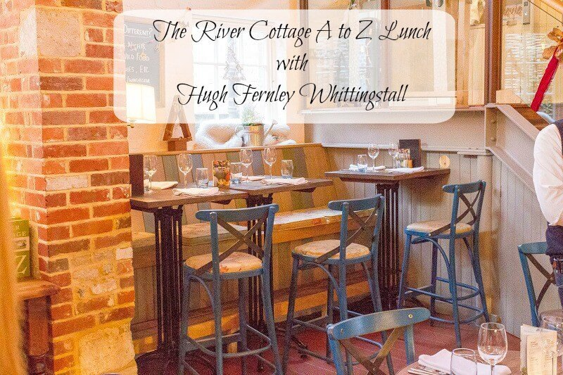 The River Cottage A to Z Lunch with Hugh Fernley Whittingstall