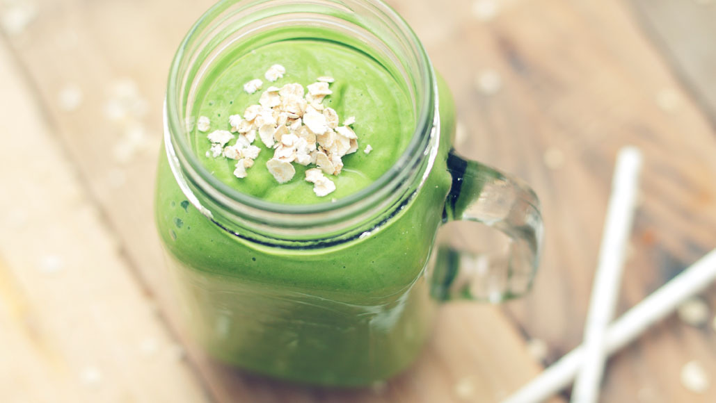 Groene smoothie – after party smoothie