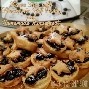 Mince Pies with Thermomix Puff Pastry and Homemade Mincemeat