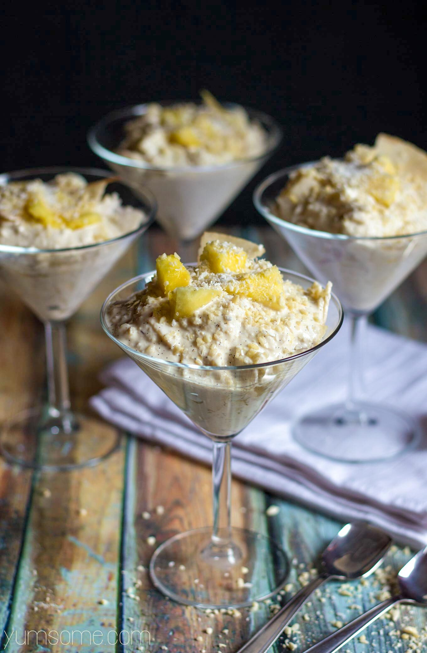 Easy Apple, Pineapple, and Coconut Ambrosia
