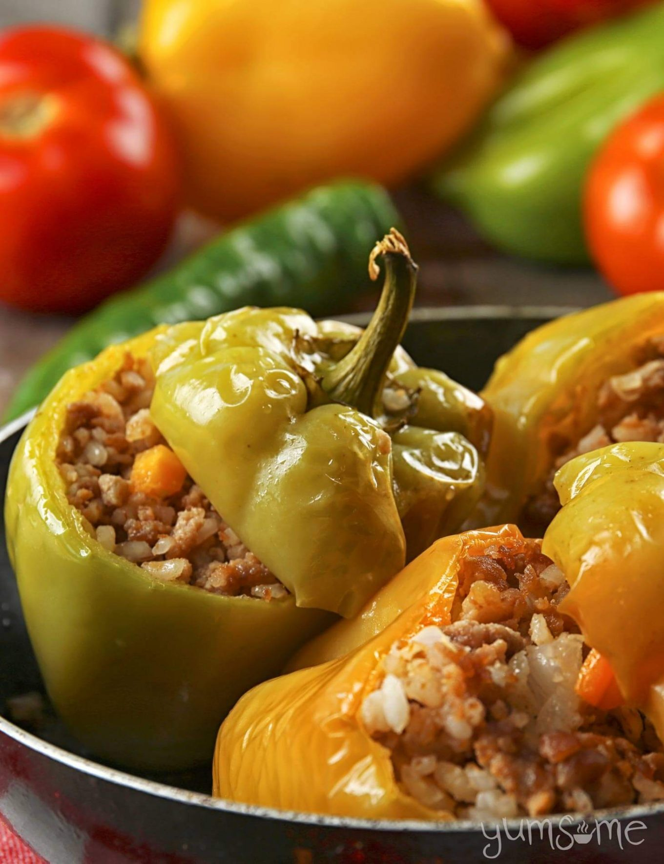 Croatian Stuffed Peppers… Veganised!
