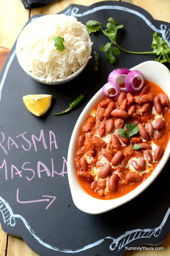 PUNJABI RAJMA | KIDNEY BEAN CURRY