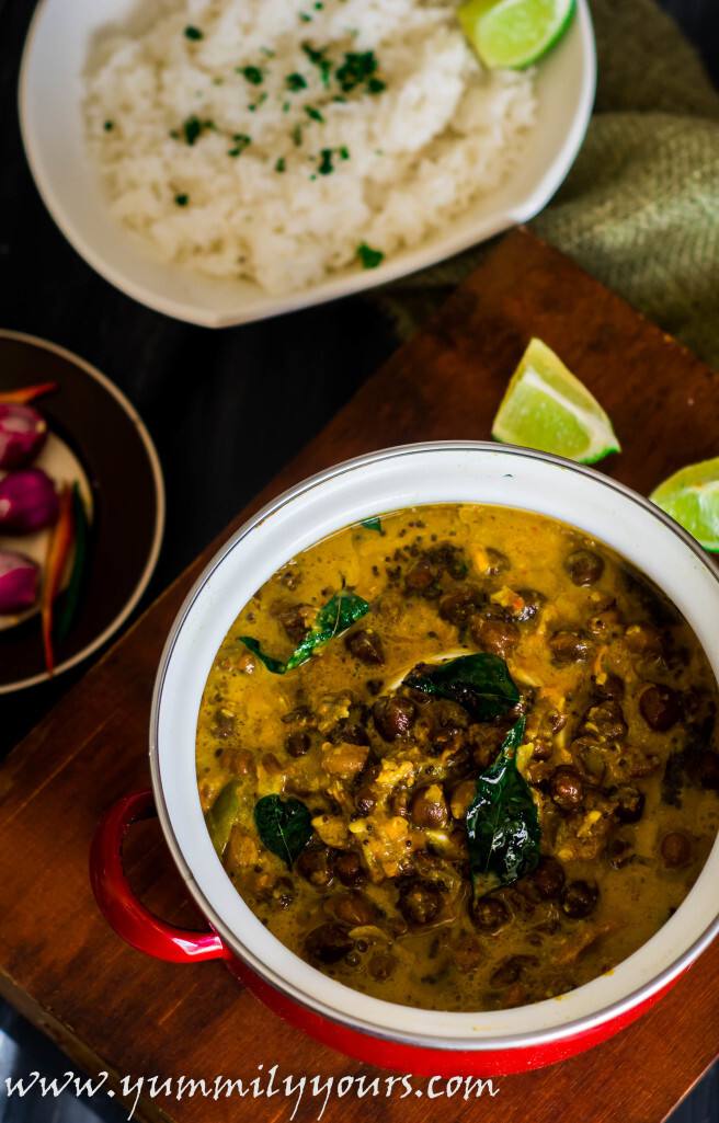 KADALA CURRY | CHICKPEA COCONUT CURRY