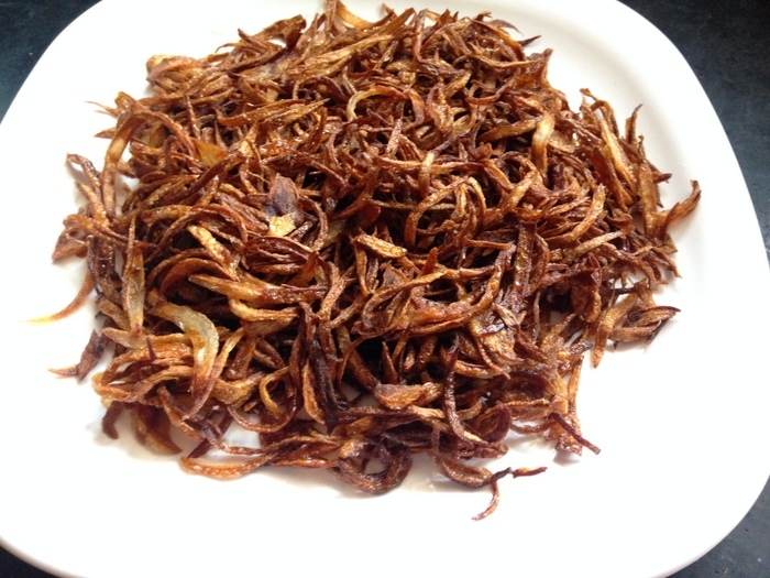 Fried Onion Recipe, How To Fry Onions For Biryani