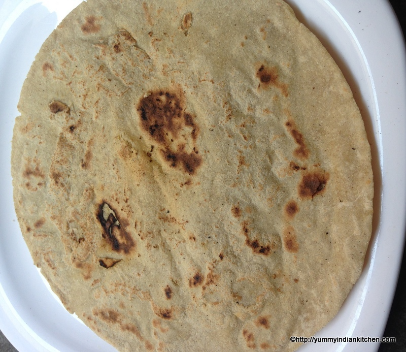 what vegetables can we eat with jowar bhakri