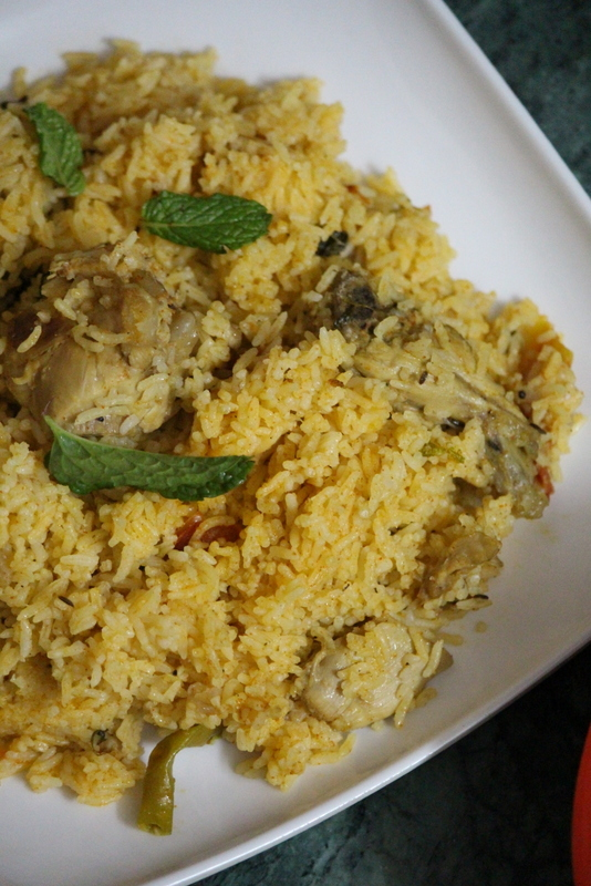 Ambur Chicken Biryani Recipe, How To Make Ambur Dum Biryani