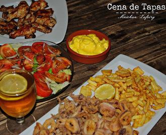 Recetas de preparar cena informal amigos mytaste for Cena fria para amigos
