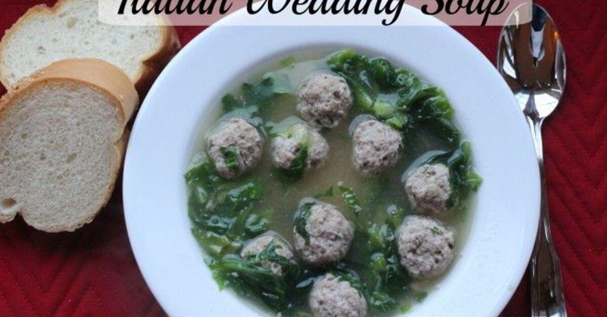 Italian Meatball Soup Giada