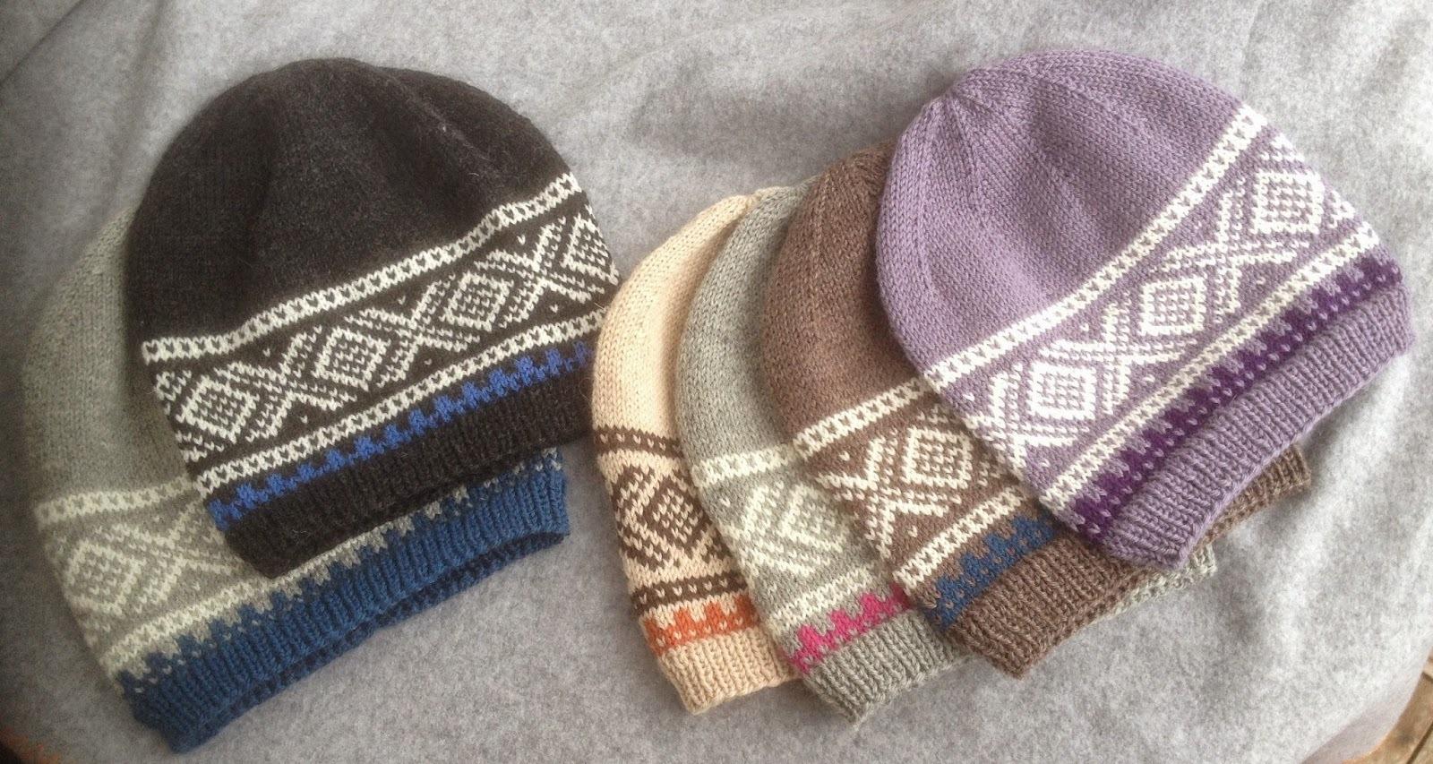 thai strikkeoppskrifter dame