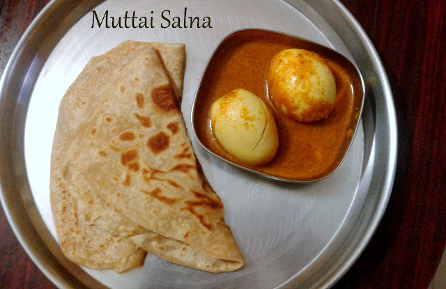 Muttai Salna | How to make Egg Salna