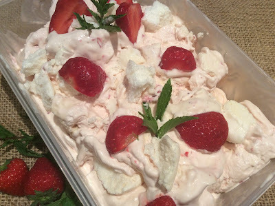 Eton Mess Ice Cream