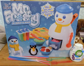 Hands up if you remember Mr Frosty ! (review)