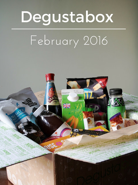 Degustabox: February 2016 (My First One!)