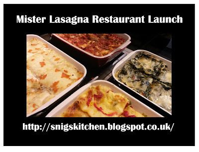 Mister Lasagna Restaurant Launch