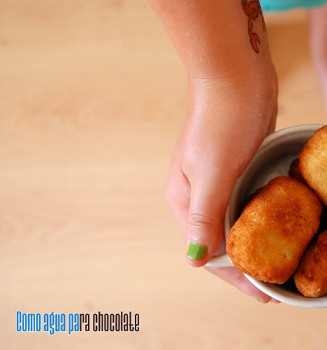 NUGGETS DE POLLO {BLOG AMIGO, NO SIN MI TAPER]