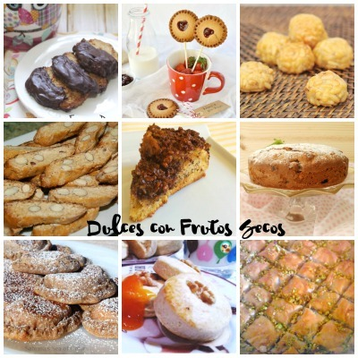 Dulces con Frutos Secos