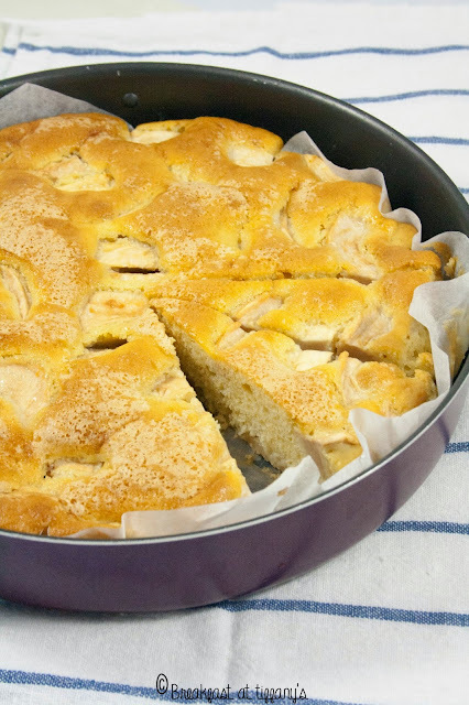 Torta di mele senza burro / Light apple cake without butter