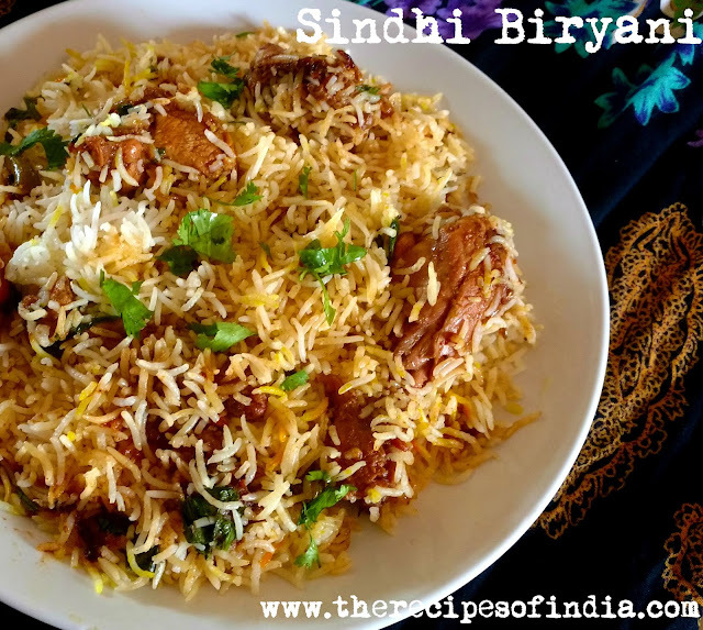 Sindhi Biryani Recipe | How to Make Sindhi Chicken Biryani
