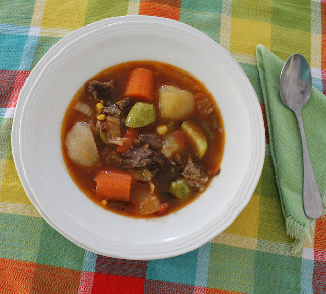 Jean's Best Vegetable Soup #SundaySupper