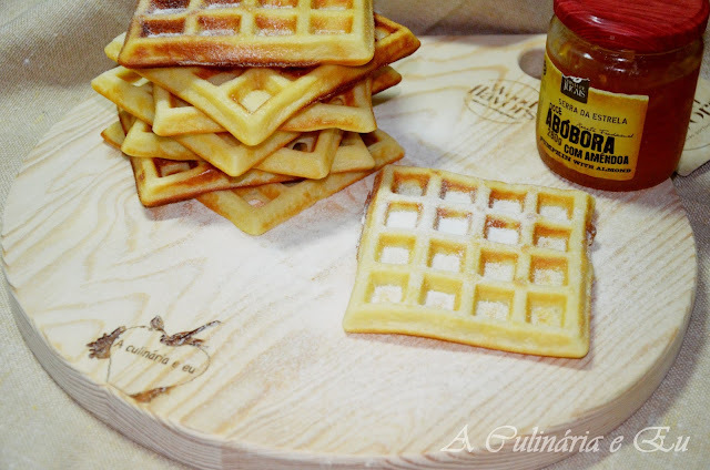 Waffles Simples [Bimby// Thermomix]