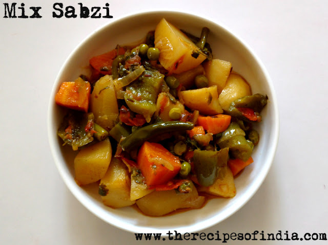 Mix Vegetable Recipe | How to Make Mix Sabzi
