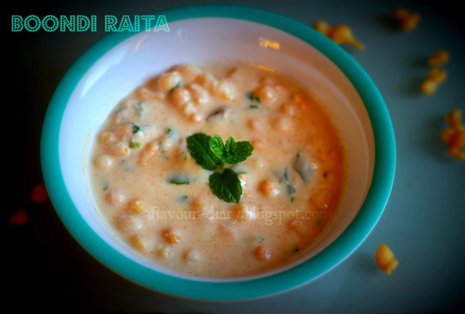 Boondi Raita | How to make Different Raita Recipe | Easy Recipe | Flavour Diary